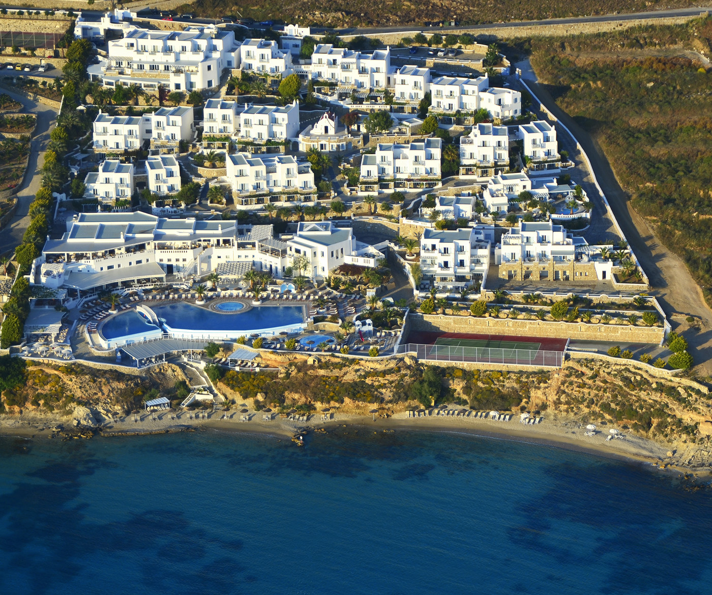 Saint John Resort Mykonos Deluxe Escapesdeluxe Escapes