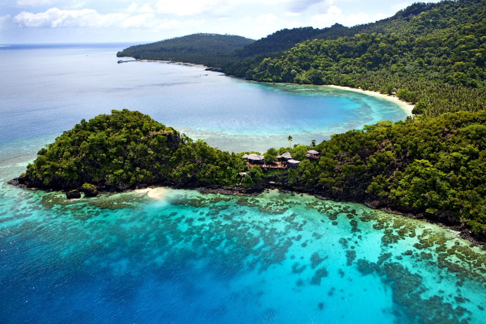 Ландшафтный дизайн острова фиджи